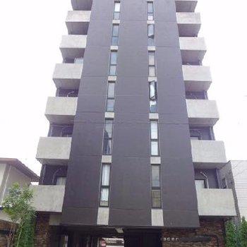 黒の格好良いマンション