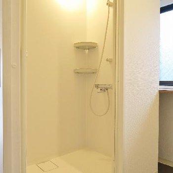シャワールームの新しい!