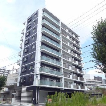 堀川近くの新築マンション