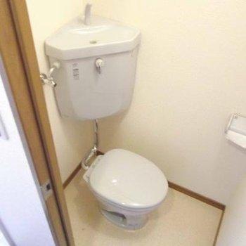ちょっと渋めのトイレ