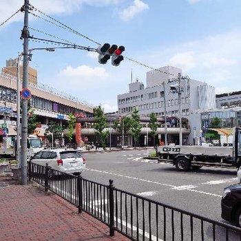 特急が停まる茨木市駅!