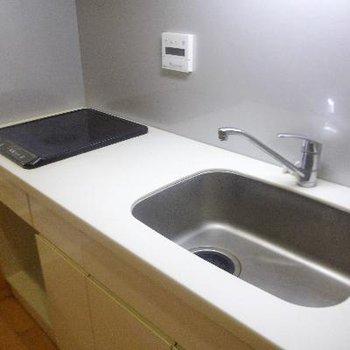 掃除がしやすそうなキッチン