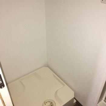 洗濯機置場もあります!