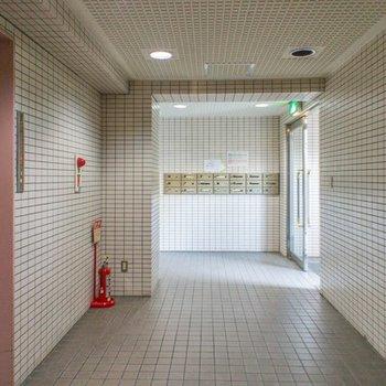 玄関開けたらエレベーターホール