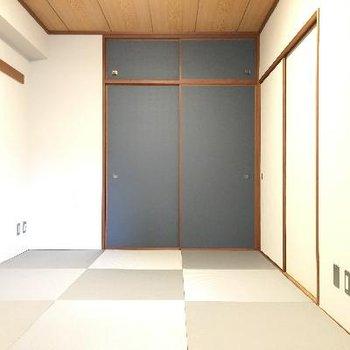 やはり和室は他の部屋より落ち着いた印象があります!