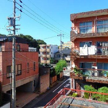 本山の住宅街の風景