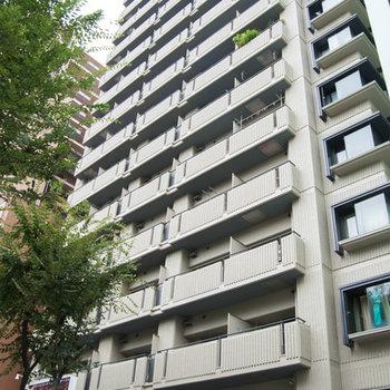 16階建てのマンション