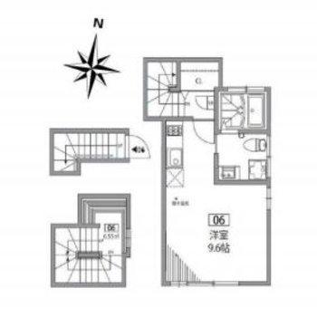 3階にあるお部屋です。