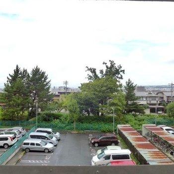 建物北側の眺望です