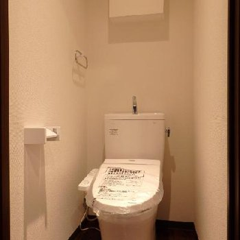 トイレもキレイ!※写真は別部屋