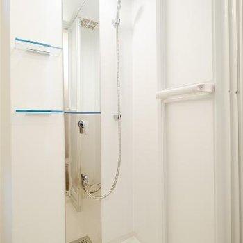 シャワールームのみですが綺麗でした