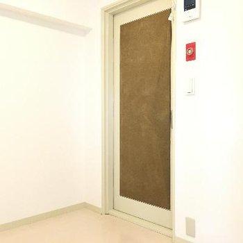 防音扉。重厚感がすごい!