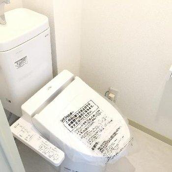 トイレ!リノベーションしたばかりでとても綺麗!
