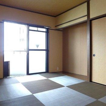 和室は6帖。床の間あり