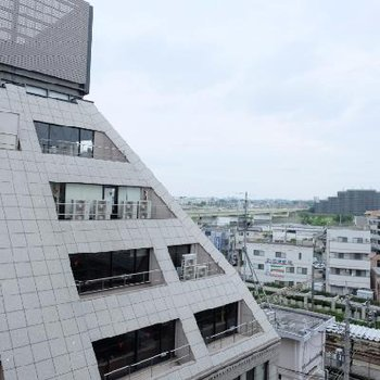 7階なので眺望は◎川が見えます※写真は別部屋です
