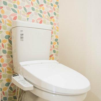 トイレはカラフル!