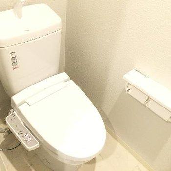 トイレも綺麗ですね!