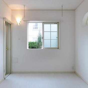 お部屋は純白で照明も乙女仕様です※写真は別部屋のもの