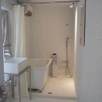 お風呂場も十分なサイズ※イメージです