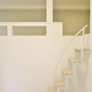 階段タイプのロフトが嬉しい◎