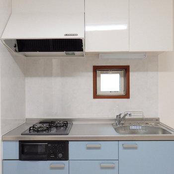 キッチンの広さが嬉しい。&窓付きも良いですね