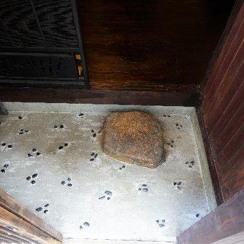 玄関を開けて。もうトキメキます。