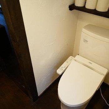ウォシュレットつきのトイレです。