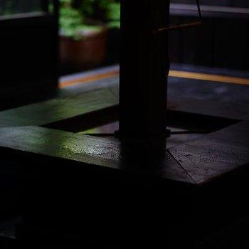 ここを囲んで座っていたい。