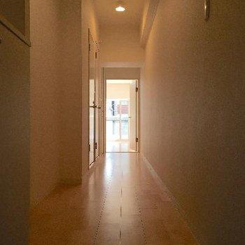 廊下もナチュラルで温かい雰囲気です◎