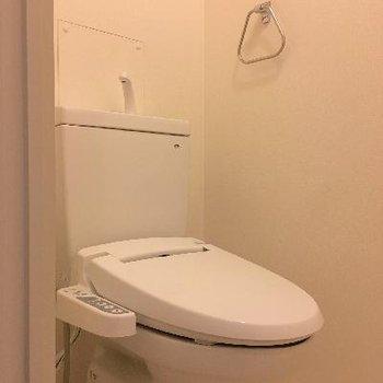トイレはふつうですね。