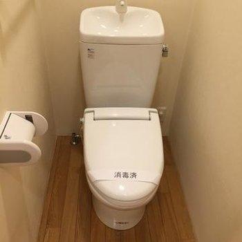 トイレは完全個室 ※写真は別部屋です