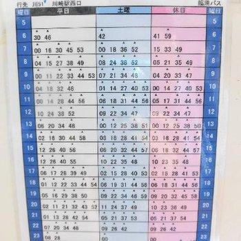川崎駅にもバスでいけますよ