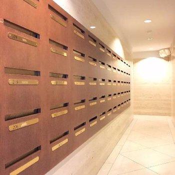 メールボックスすらリゾート感あります。今日はどんな郵便が入ってるかな♪
