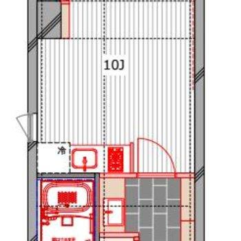 大きめの土間スペースを設けました!
