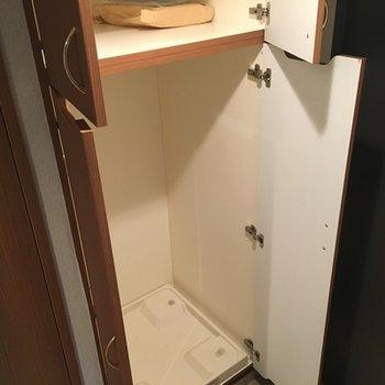 洗濯機置き場隠せます!
