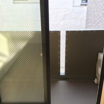 5階のバルコニー