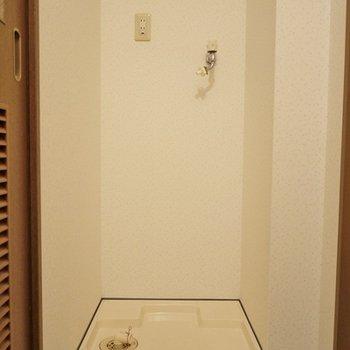 選択置き場も室内に。