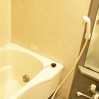 バスルームは癒しの空間
