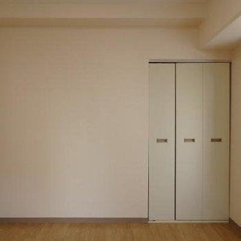 こちらの洋室にもクローゼットがあります。