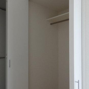 広めの収納がまた使い勝手がgood※写真は別部屋