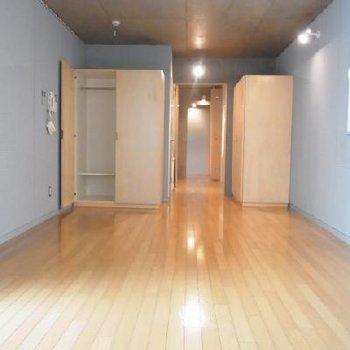収納も二か所※写真は別部屋。こんなに広くありません