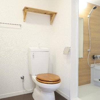 脱衣所にトイレのあるタイプに※写真はイメージ