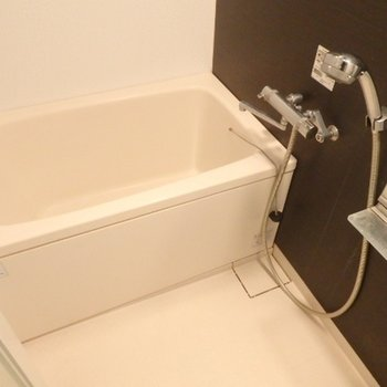 浴室もちょうどいい広さ