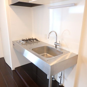 カッコ良いデザインのキッチン