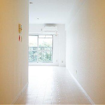 廊下がとても広い!