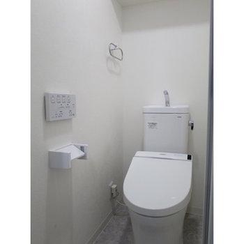 トイレも綺麗です