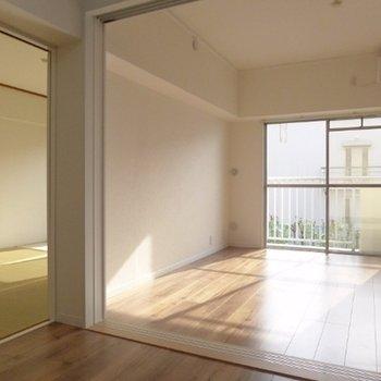 陽の当たる和室・洋室そろってます。