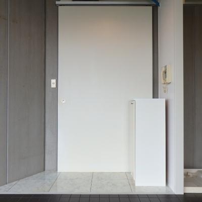 扉のようなもの、防寒??