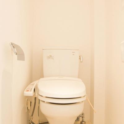 トイレはウォシュレットとき