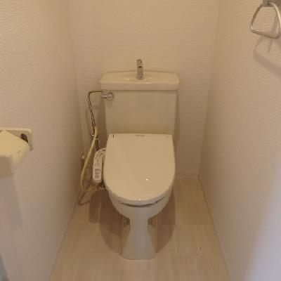 きれいなトイレです。